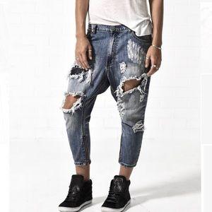 One Teaspoon dusty kingpins jeans 28